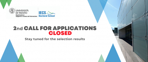 2nd Call for applications - Closed!