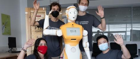 Humanoid robot ARI